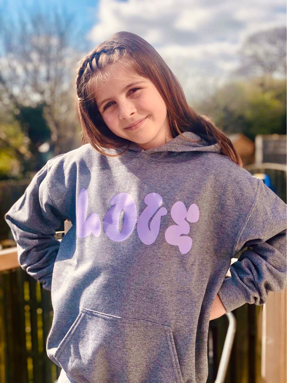 Layla LOVE hoodie - child