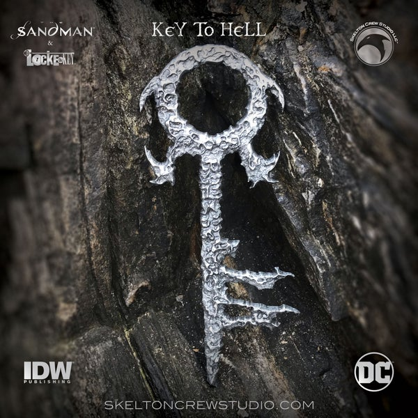 Image of Locke & Key/Sandman: The Key to Hell! SHIPS NOV/DEC 2021