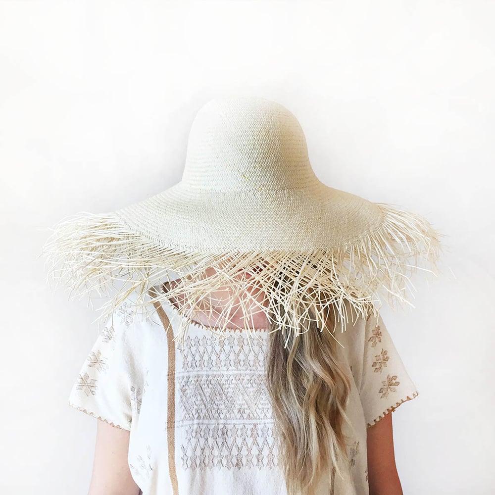 Image of Medusa Handwoven Fine Weave Jipijapa Sun Hat
