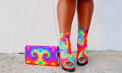 Image of Solace Bootie - Tie Dye