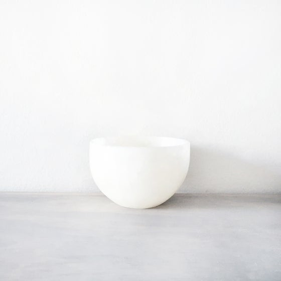 Image of Handmade White Onyx Bowl