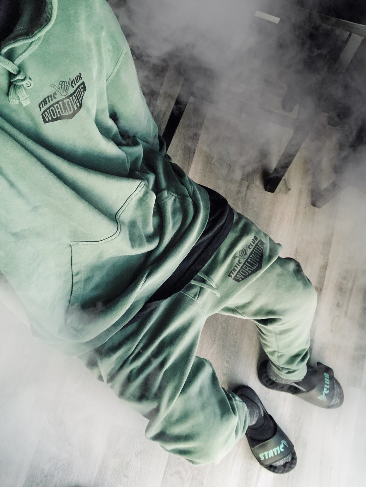 Worldwide Hoodie [Kush Green]