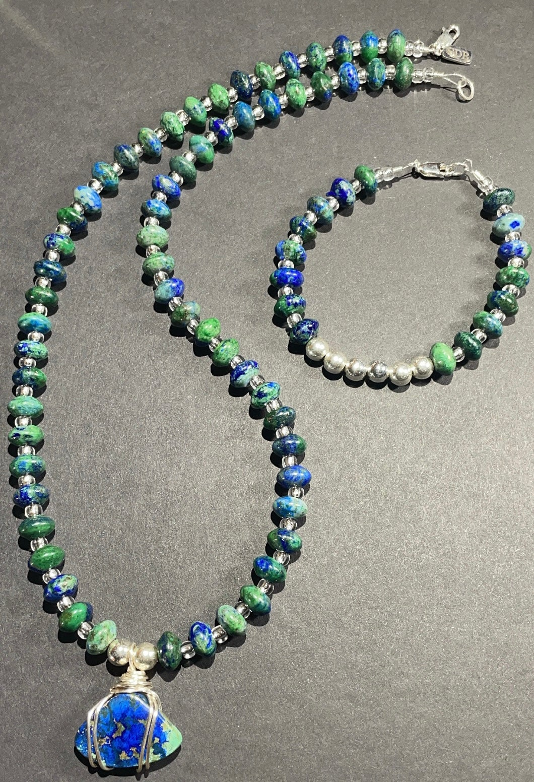 Azurite - Malachite Set