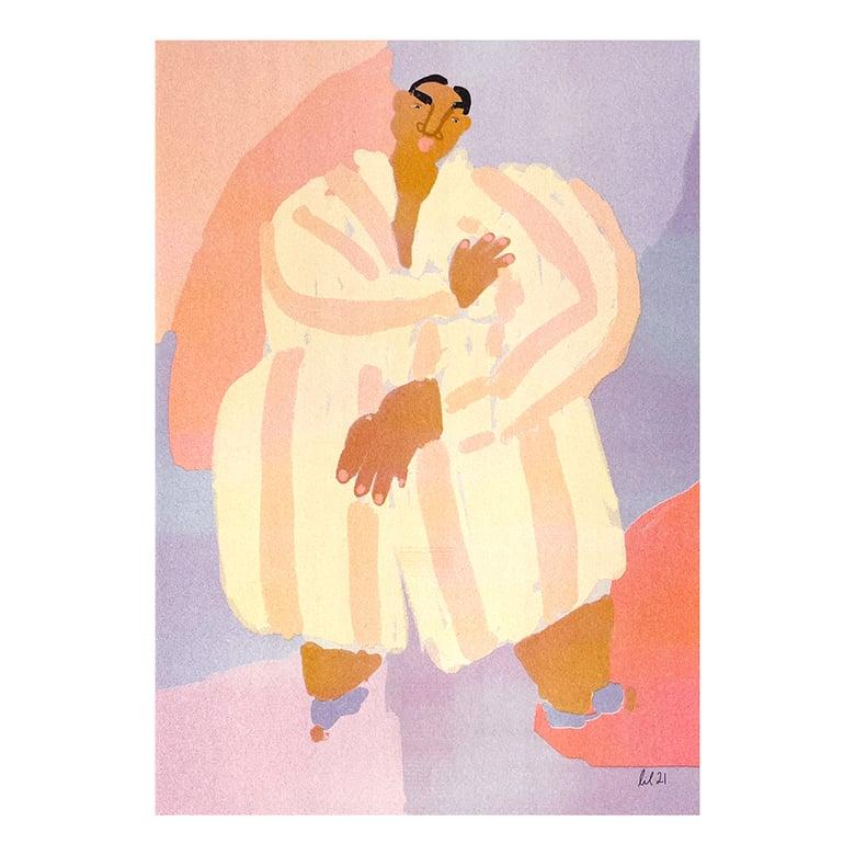 "Image of ""Pajama"" Riso Print by Lilian Martinez"