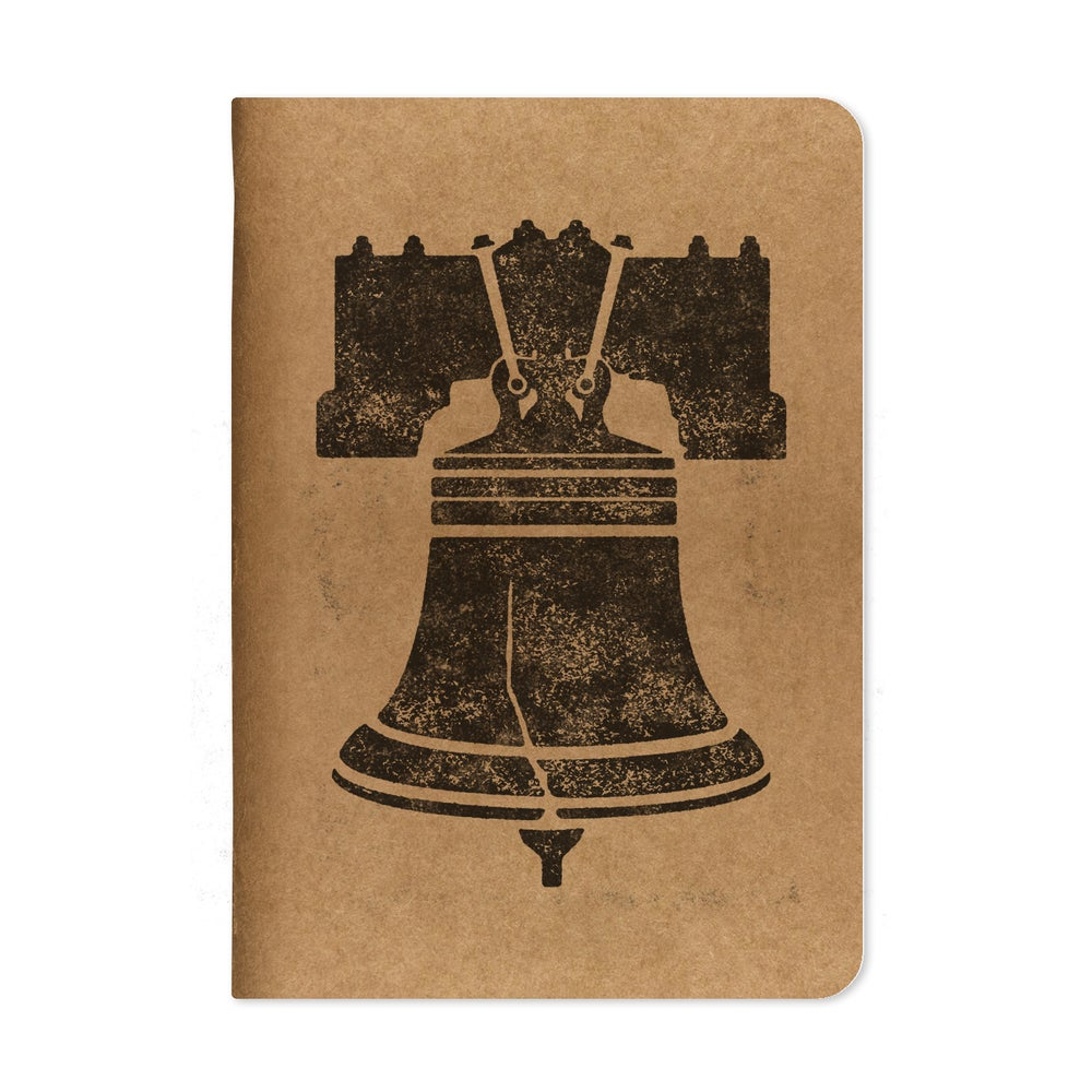 Image of Ring The Bell Pennant Kraft Notebooks