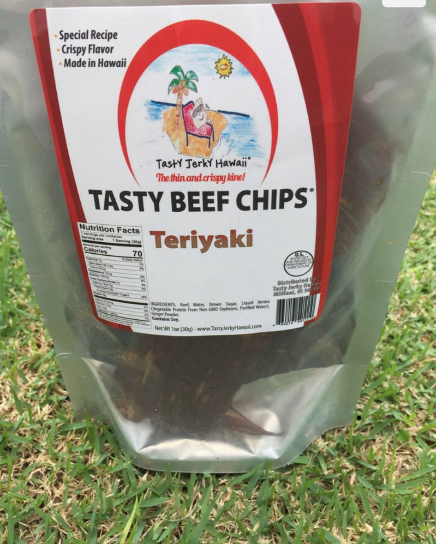 Image of Teriyaki crispy jerky