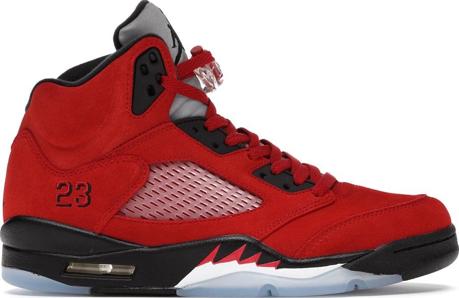 """Image of Nike Retro Air Jordan 5 """"Raging Bulls"""" GS"""
