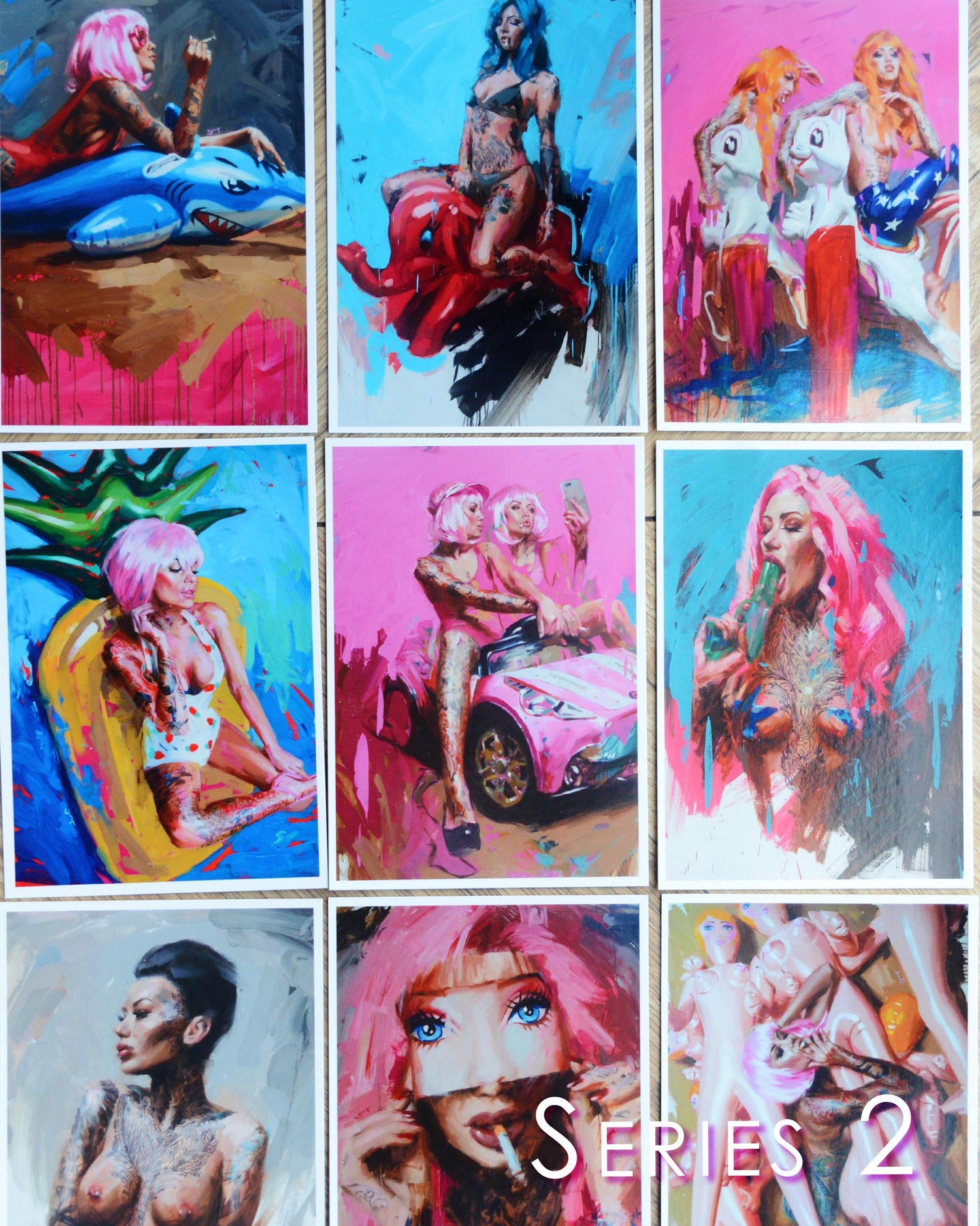Image of Art Cards Multi Pack (SERIES 2, SERIES 3 & WATERCOLOUR)