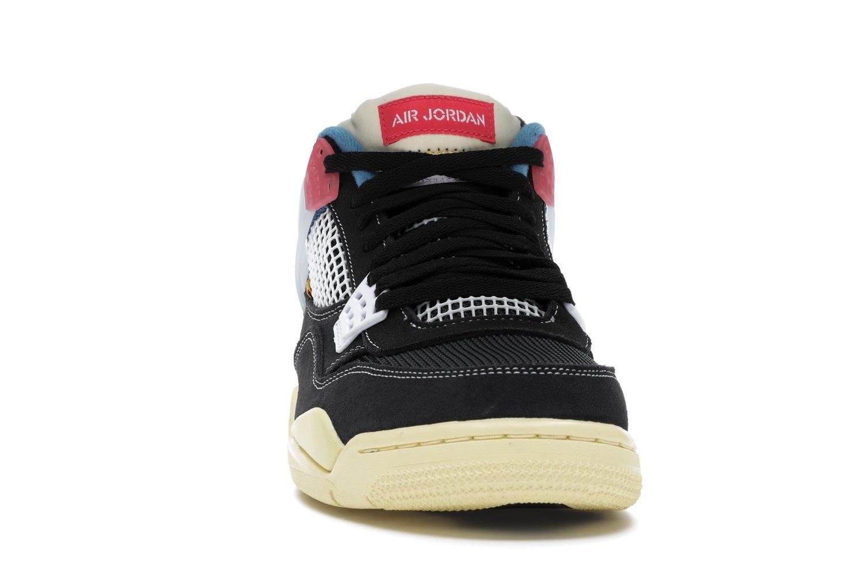 """Image of Nike Retro Air Jordan 4 Union LA """"Off Noir"""" Sz 7"""