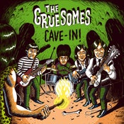 Image of LP. The Gruesomes : Cave - In.
