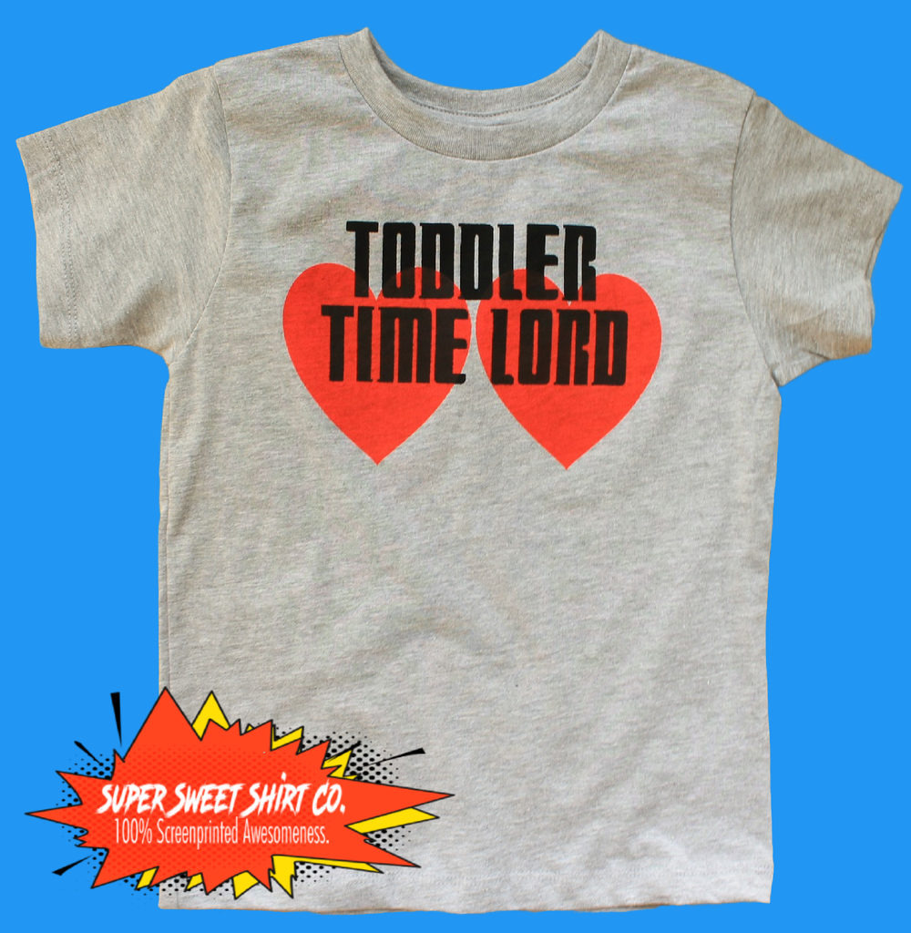 Toddler Timelord Shirt