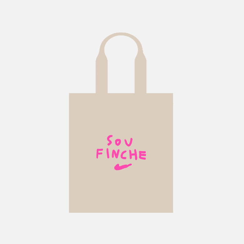 Image of SOU FINCHE TOTEBAG FLUOR EDITION