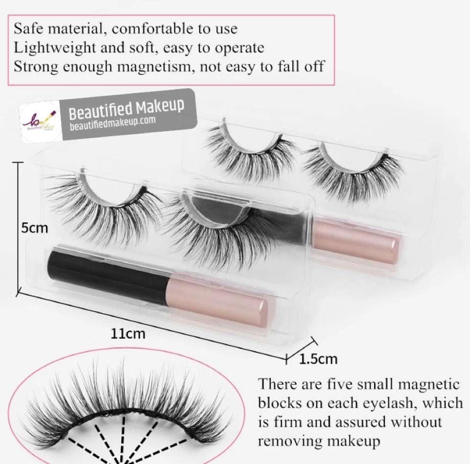 Image of Magnetic eye Lashes