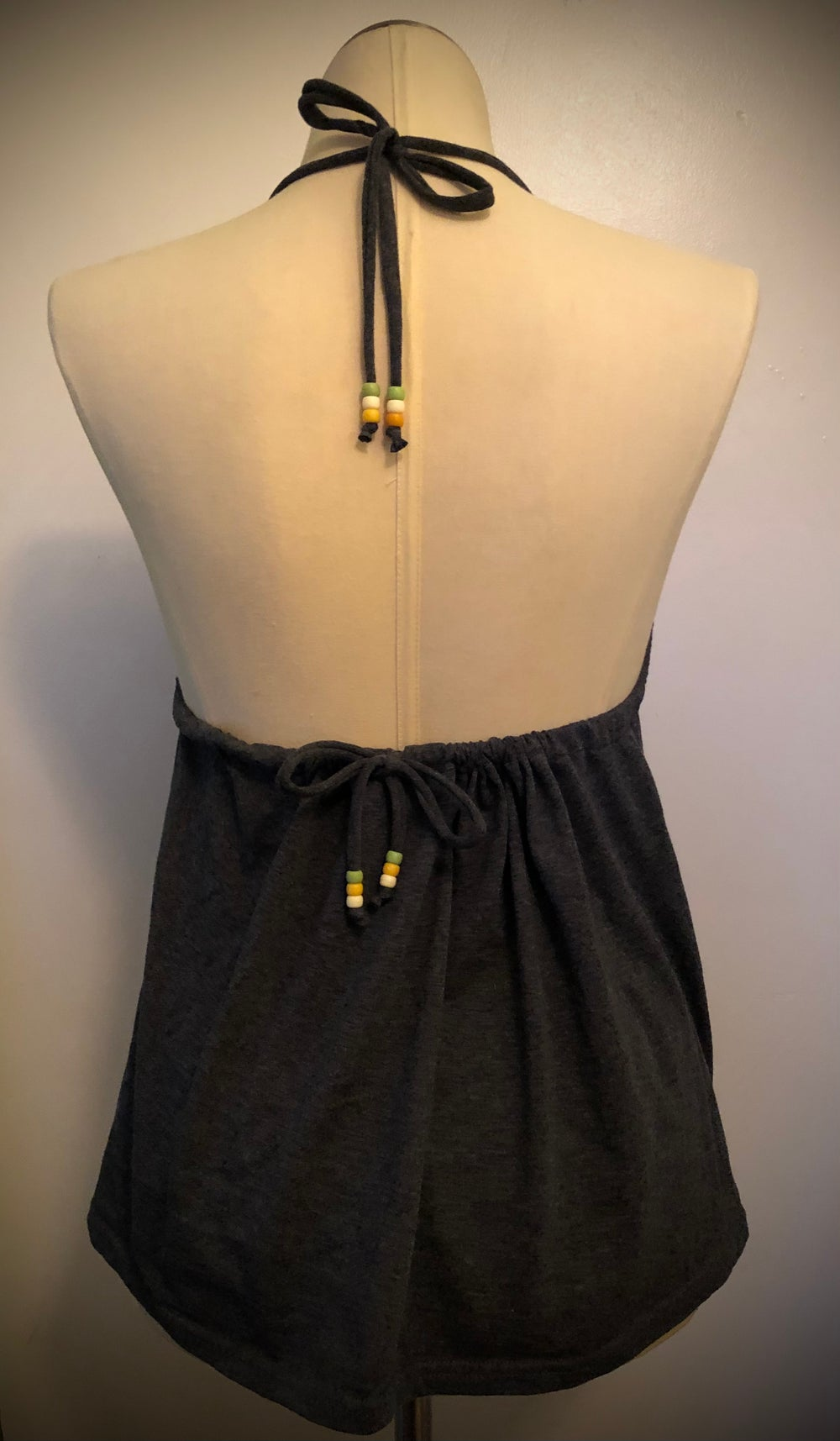 """""""I'm Saucy"""" UPcycled t-shirt halter"""