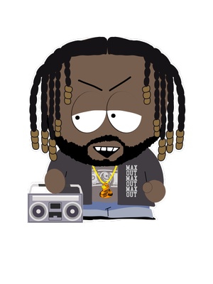 Image of #MAXEDOUT STICKER PACK