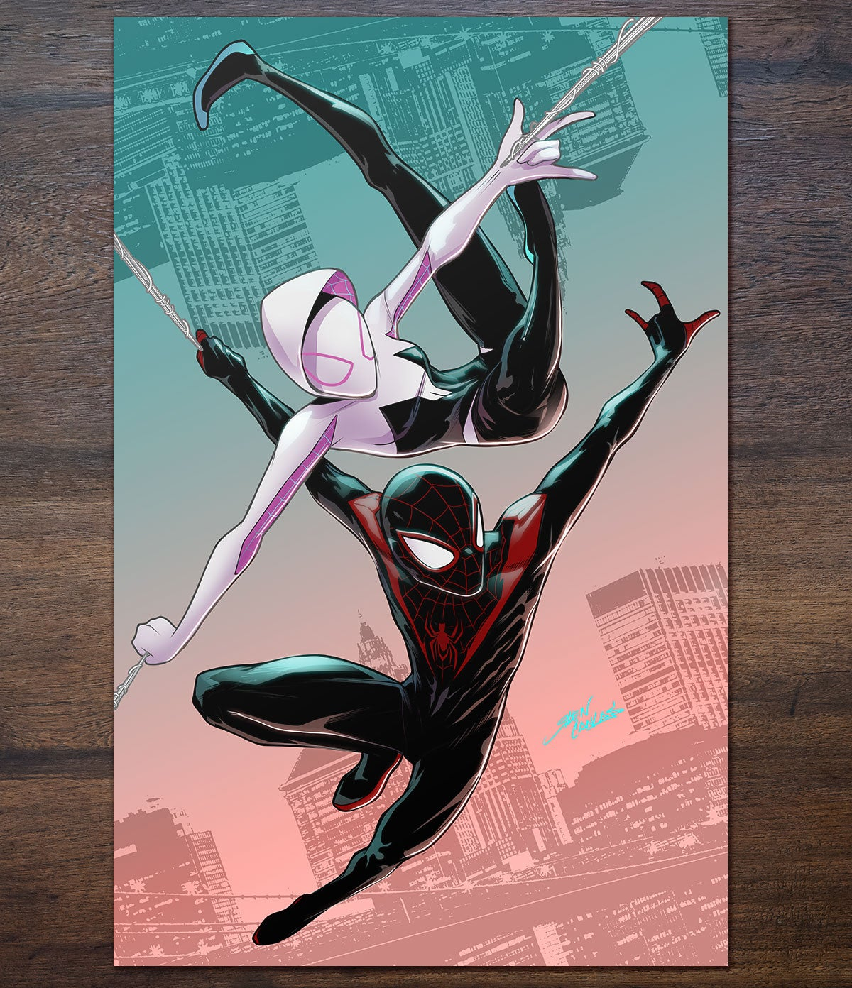 Image of Gwen and Miles