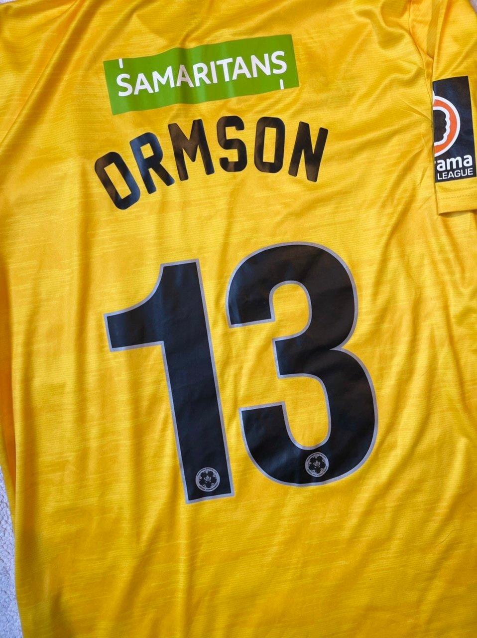 Match Worn 2019/20 Joma Away GK Shirt