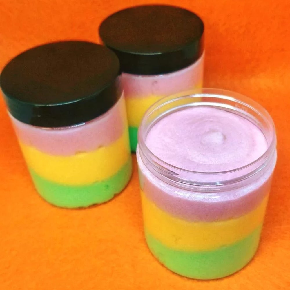 Image of Rainbow Sherbet Shea Butter Sugar Scrub