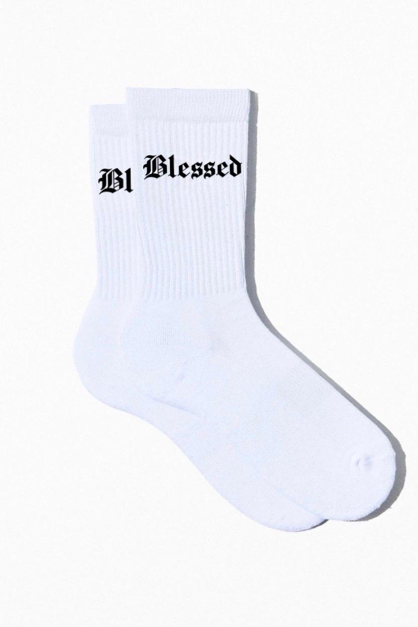 Image of Blessed Plush Elite Socks