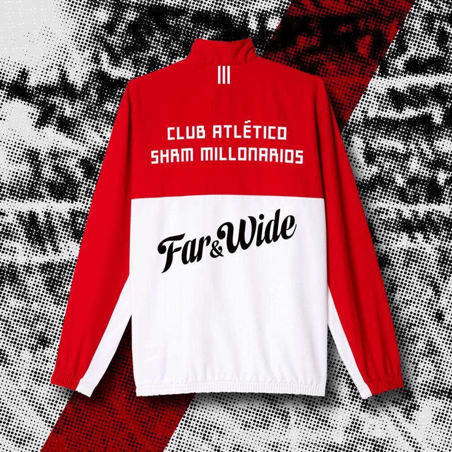 Image of SHRM Millonarios x Adidas 21/22 Campera Jacket