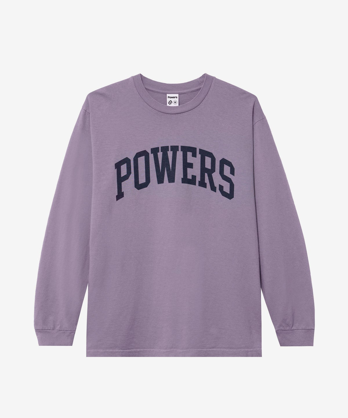 Image of POWERS_ARCH LONG SLEEVE :::MUTED PLUM:::