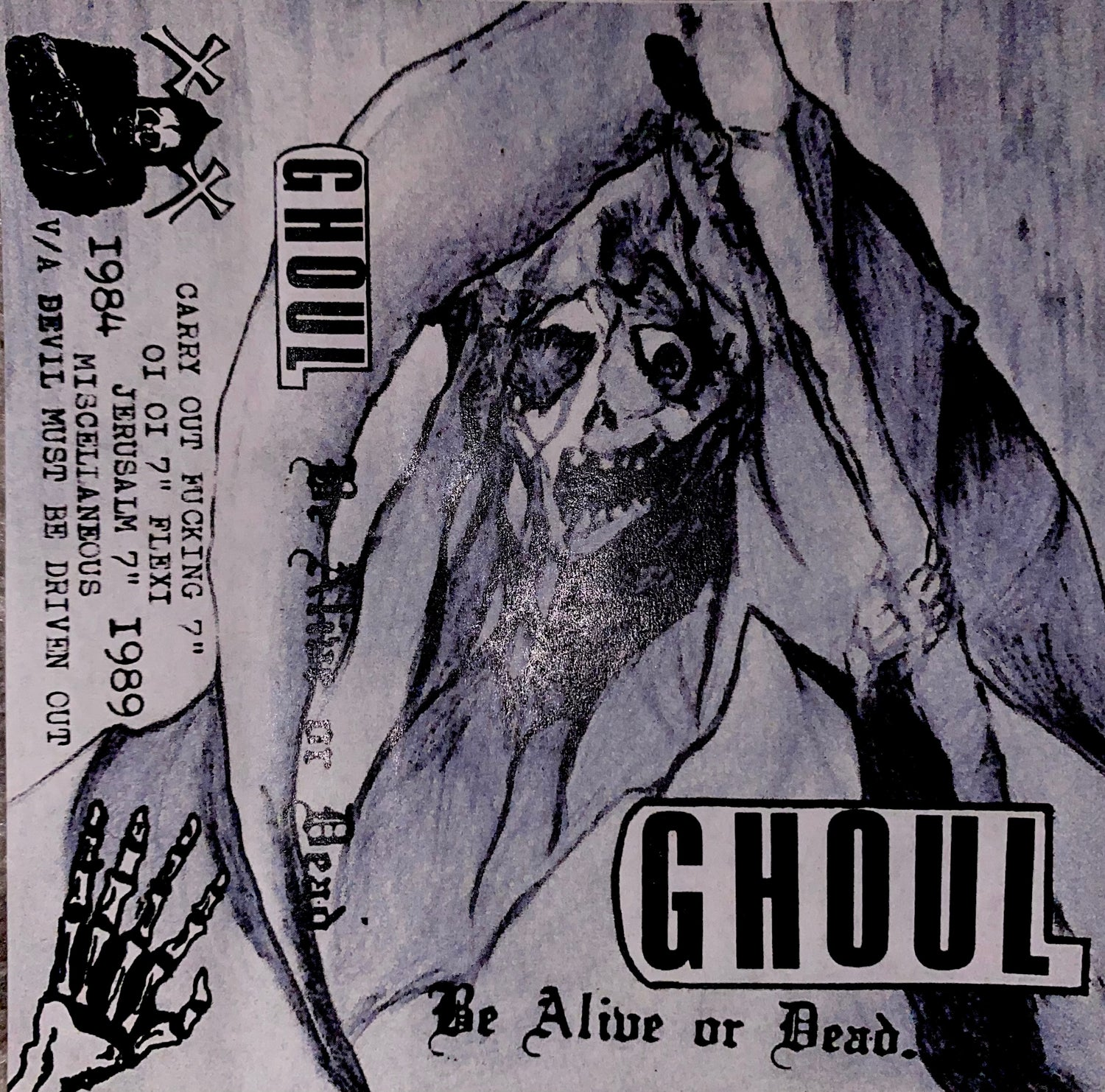 GHOUL-BE ALIVE OR DEAD CS