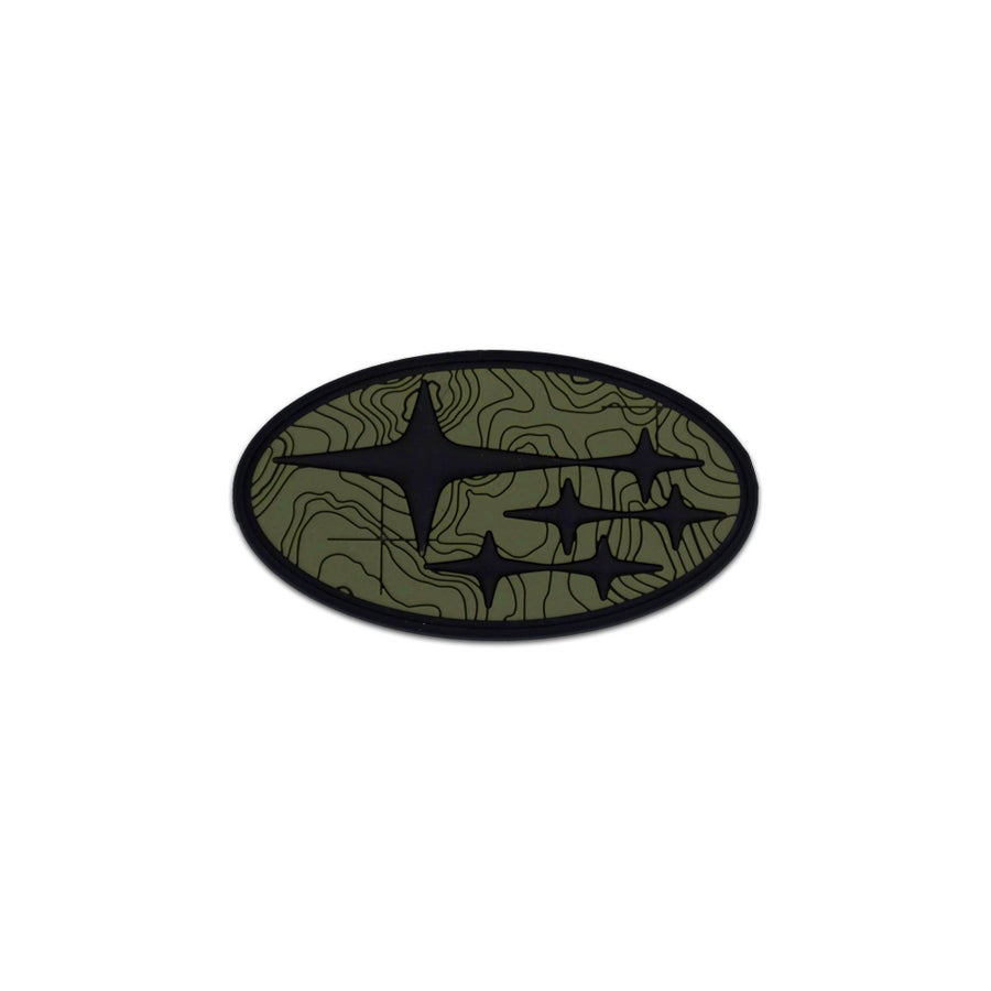 Image of Car Series: Subaru Tamography™ Olive Drab Green Patch