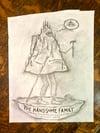 Handsome Family Original drawing