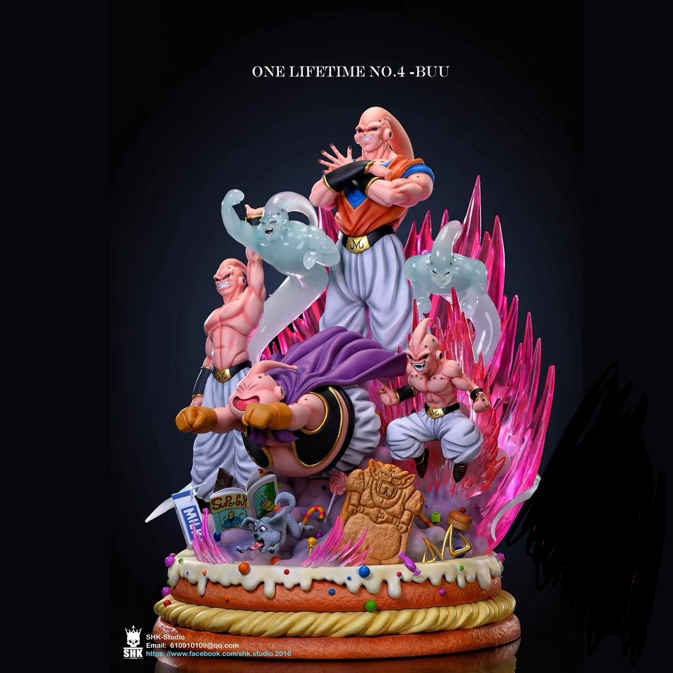 Image of [PRE-ORDER] Dragon Ball Z SHK Lifetime Series Buu 1:6 Resin Statue