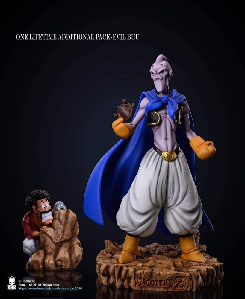Image of [Pre-Order]Dragon Ball Z SHK Studio Evil Buu and Satan  Resin Statue