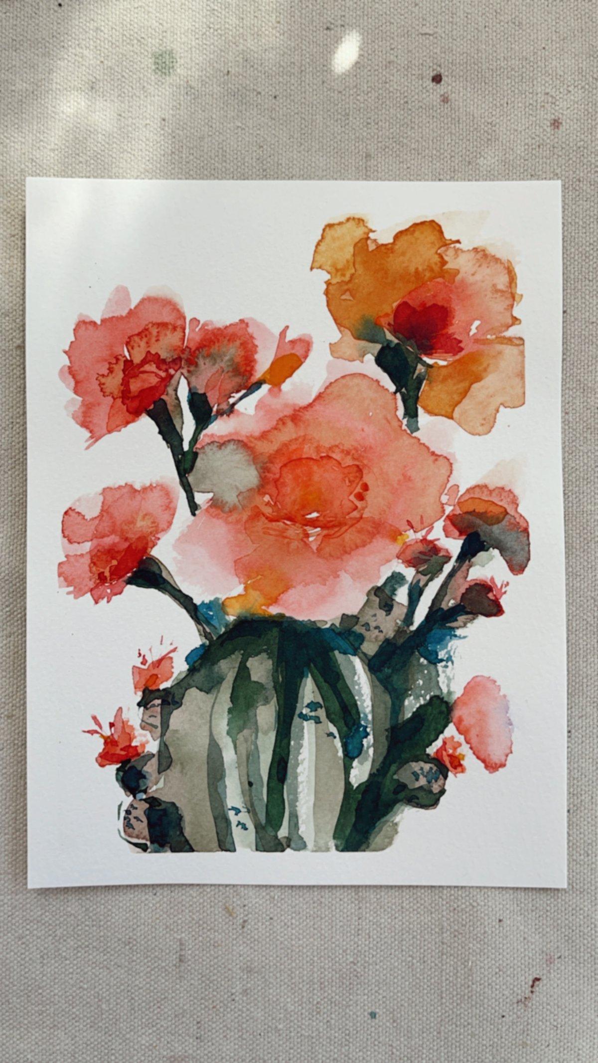 Image of Watercolors Florals + Botanicals Workshop Bundle