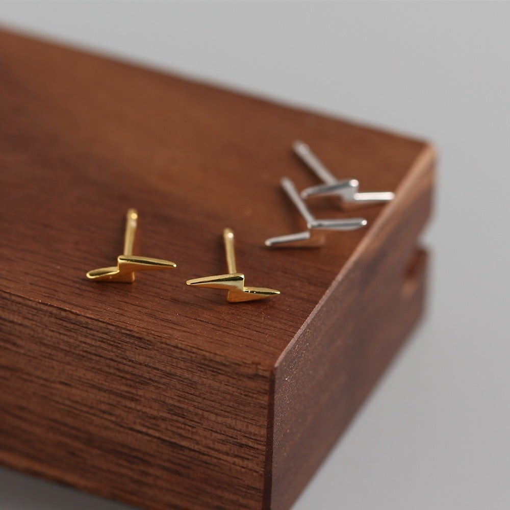 Lightning Bolt Earrings (S925)