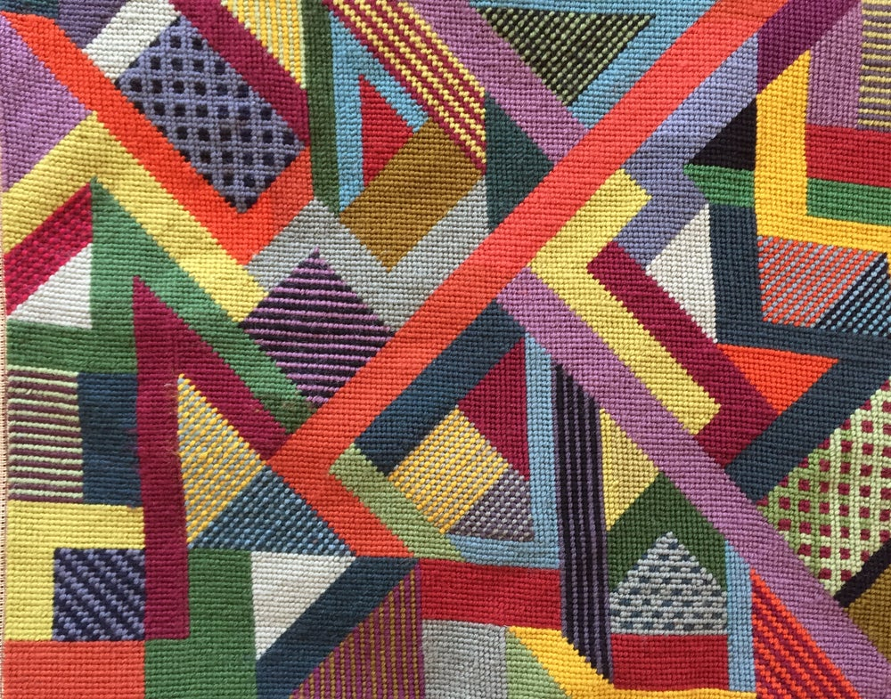 Image of Improvised Abstract Tapestry Workshop with Vita Cochran Saturday June 12th 1-4pm