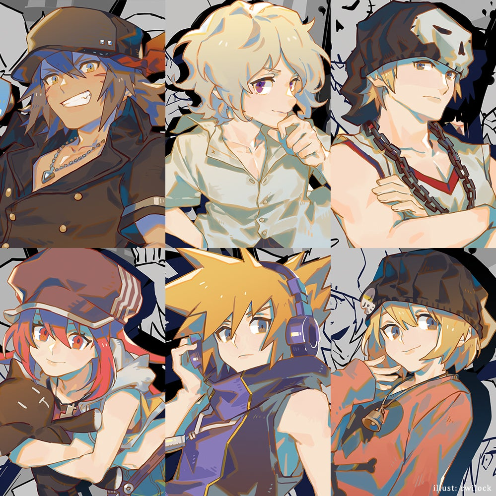 Image of TWEWY Print Set