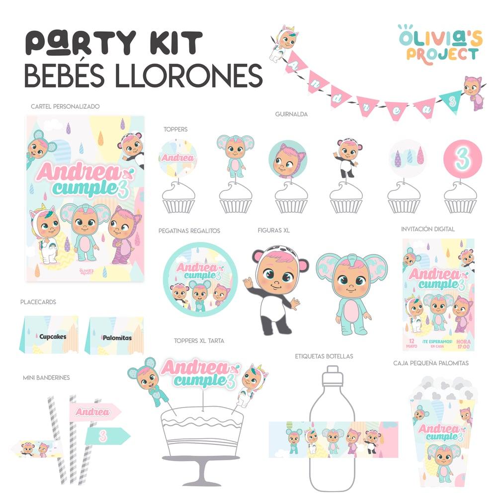 Image of Party Kit Bebés Llorones