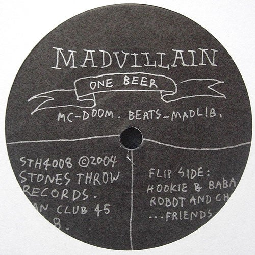 Madvillain - One Beer ( Stones Throw Records - 2004)