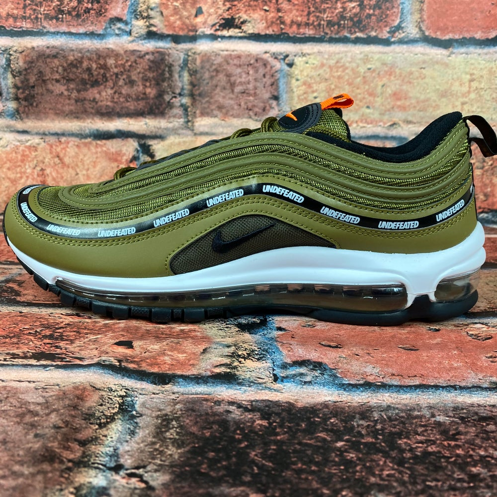 Image of UNDEFEATED X AIR MAX 97 'MILITIA GREEN'