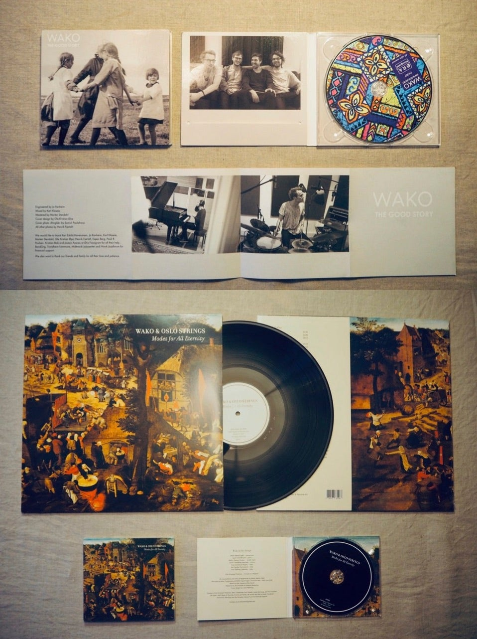 Image of Our two first albums: The Good Story // Modes for All Eternity