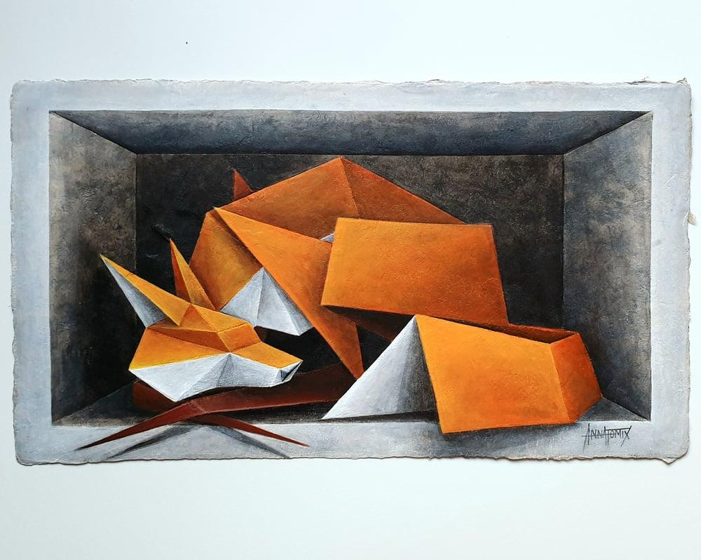 "Image of ""Lockdown"" original painting"