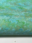 Marbled Paper Spring Bouquet Collection I - 1/2 sheets