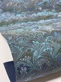 Marbled Paper Spring Bouquet Collection III - 1/2 sheets