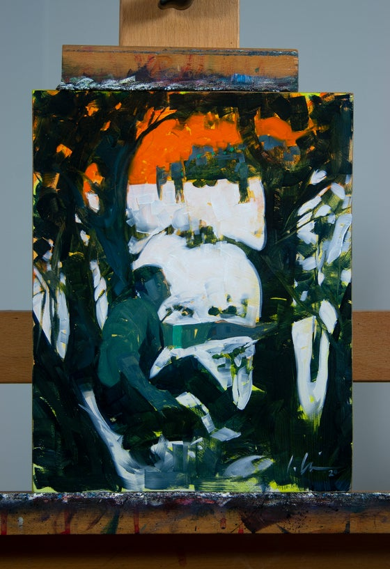 Image of Paycheck PRELIMINARY OIL STUDY