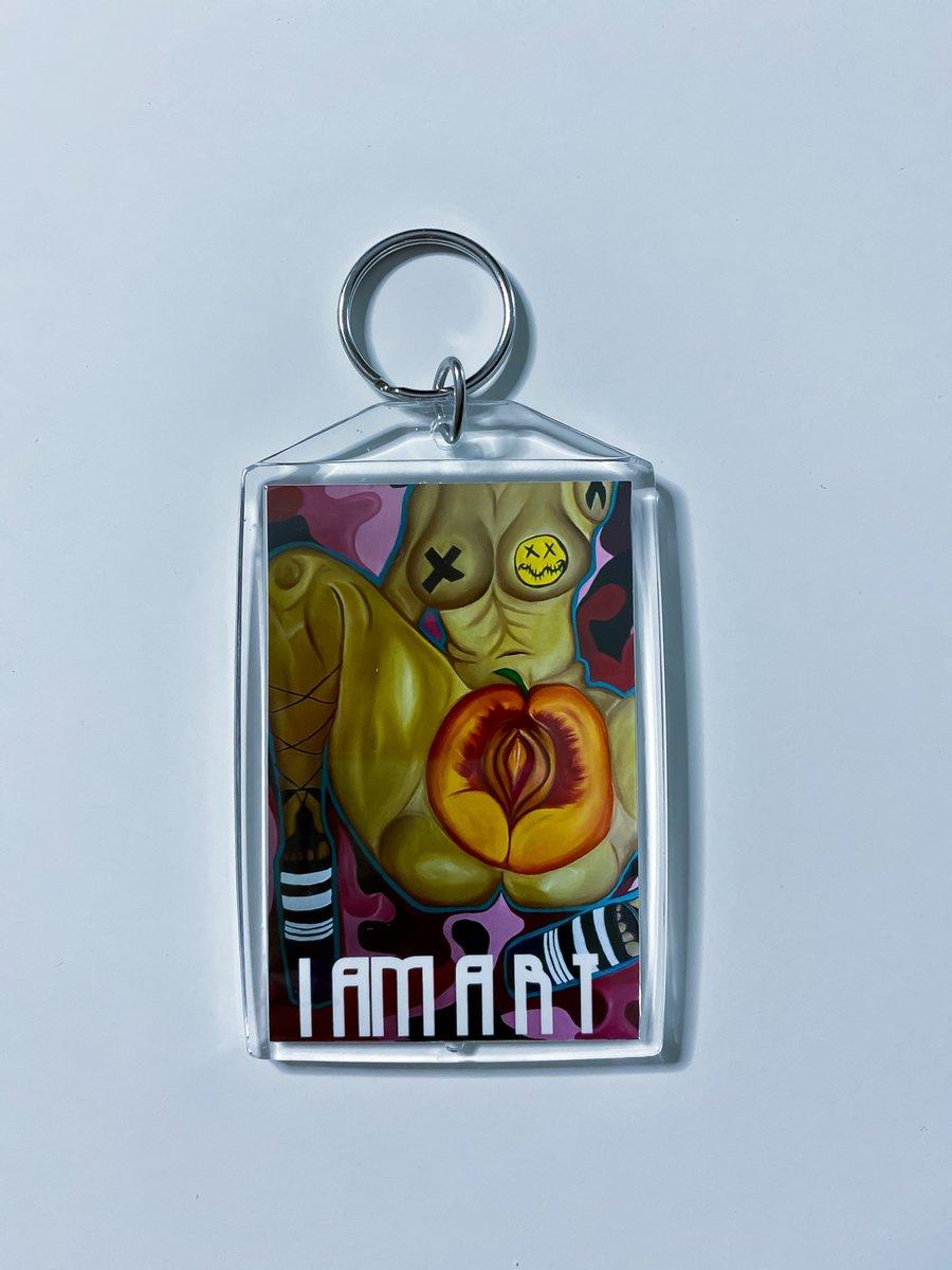 """Image of """"I am Art"""" Keychain"""