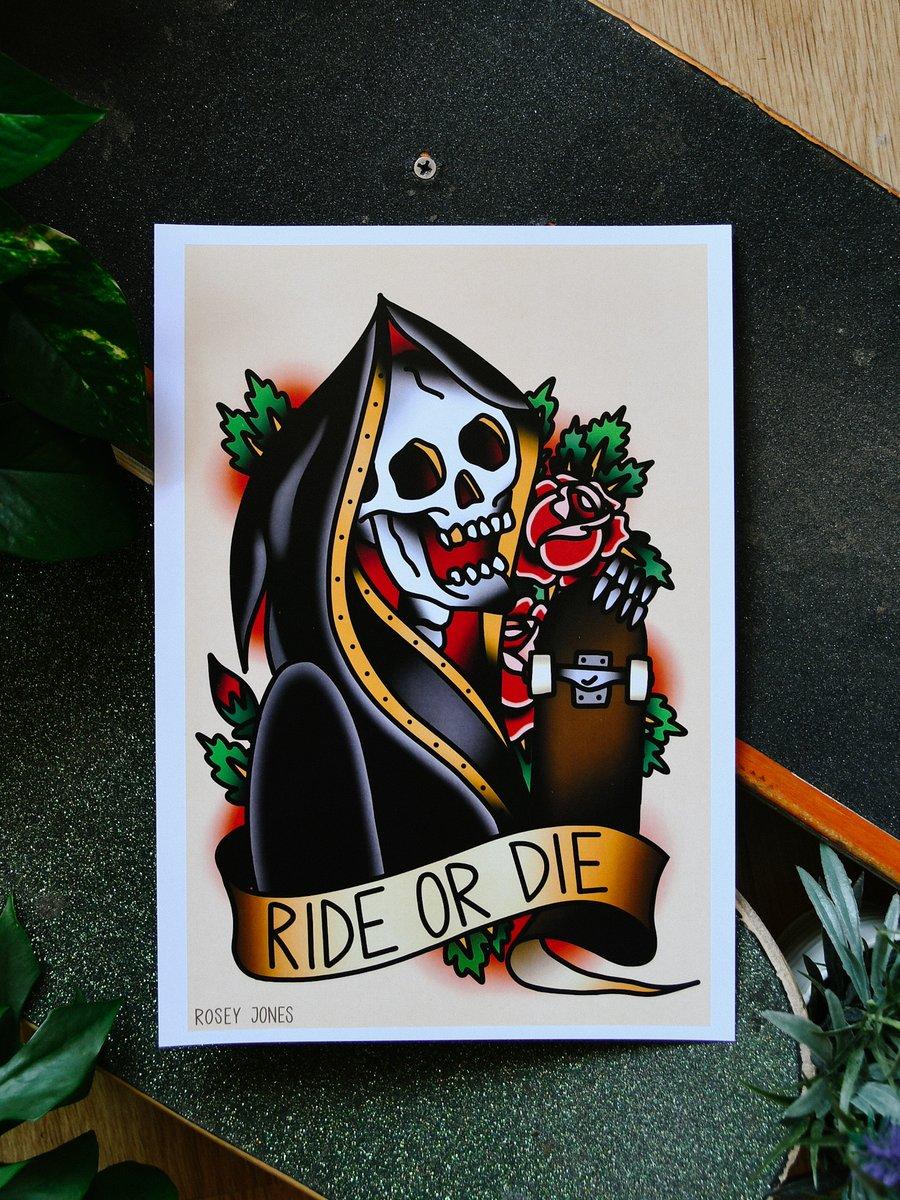 Image of Print Ride Or Die