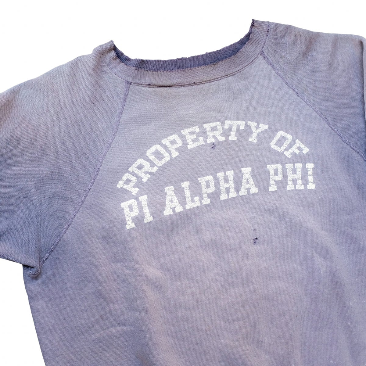 Image of Vintage 50s/60s Sunfaded Fraternity Sweatshirt