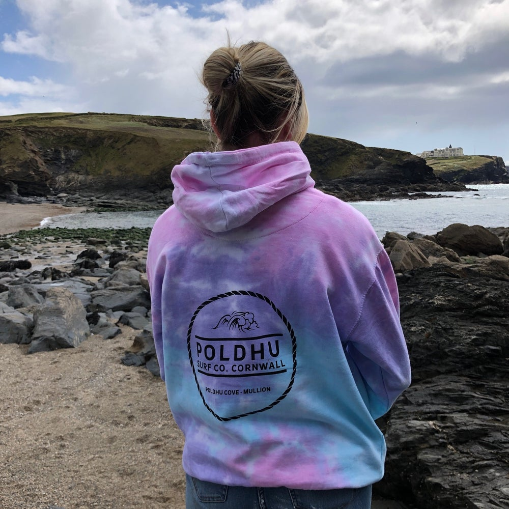 Tie Dye Hoodie - Cotton Candy