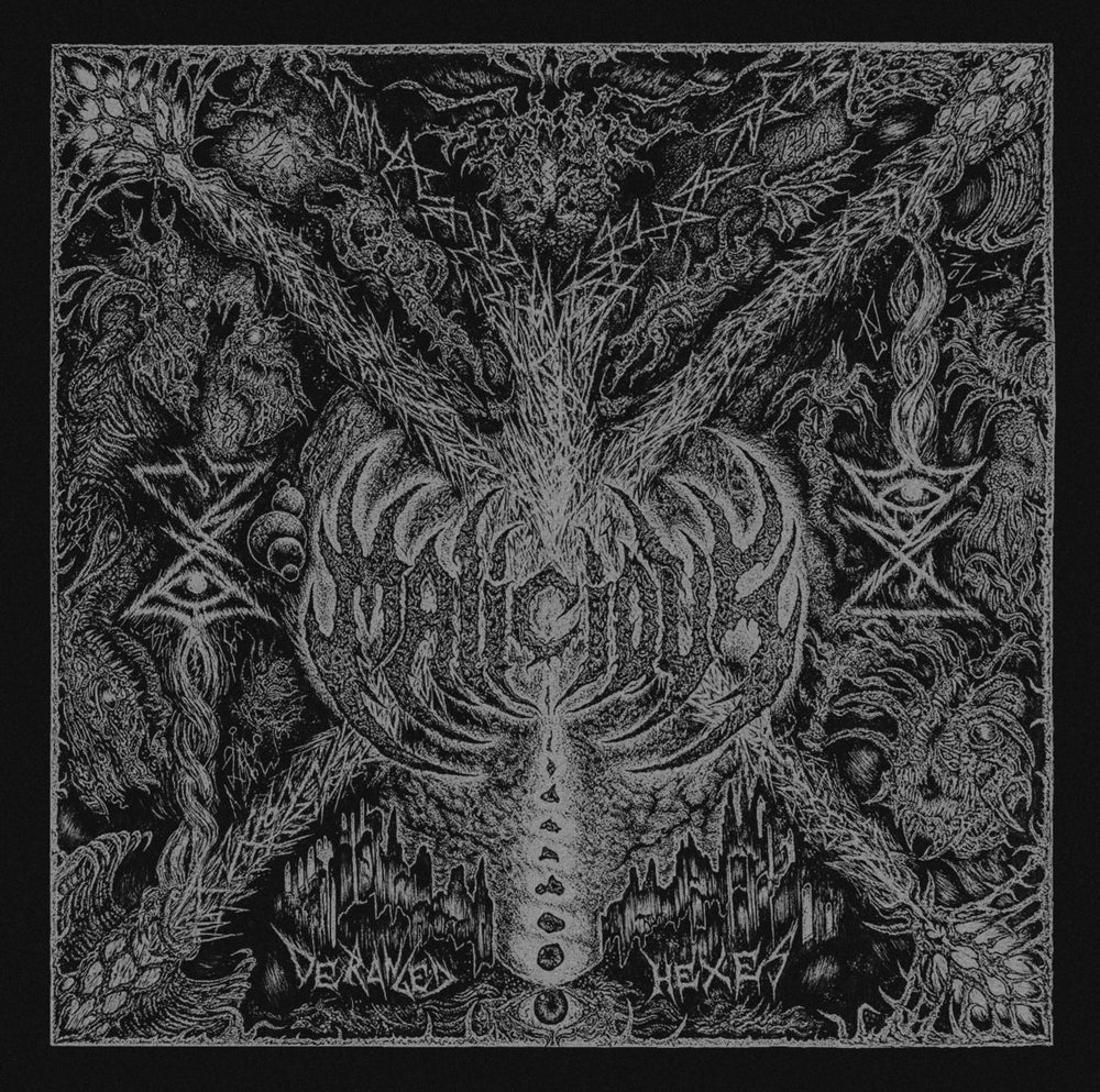 """Image of Malicious """"Deranged Hexes"""" LP *IMPORT*"""