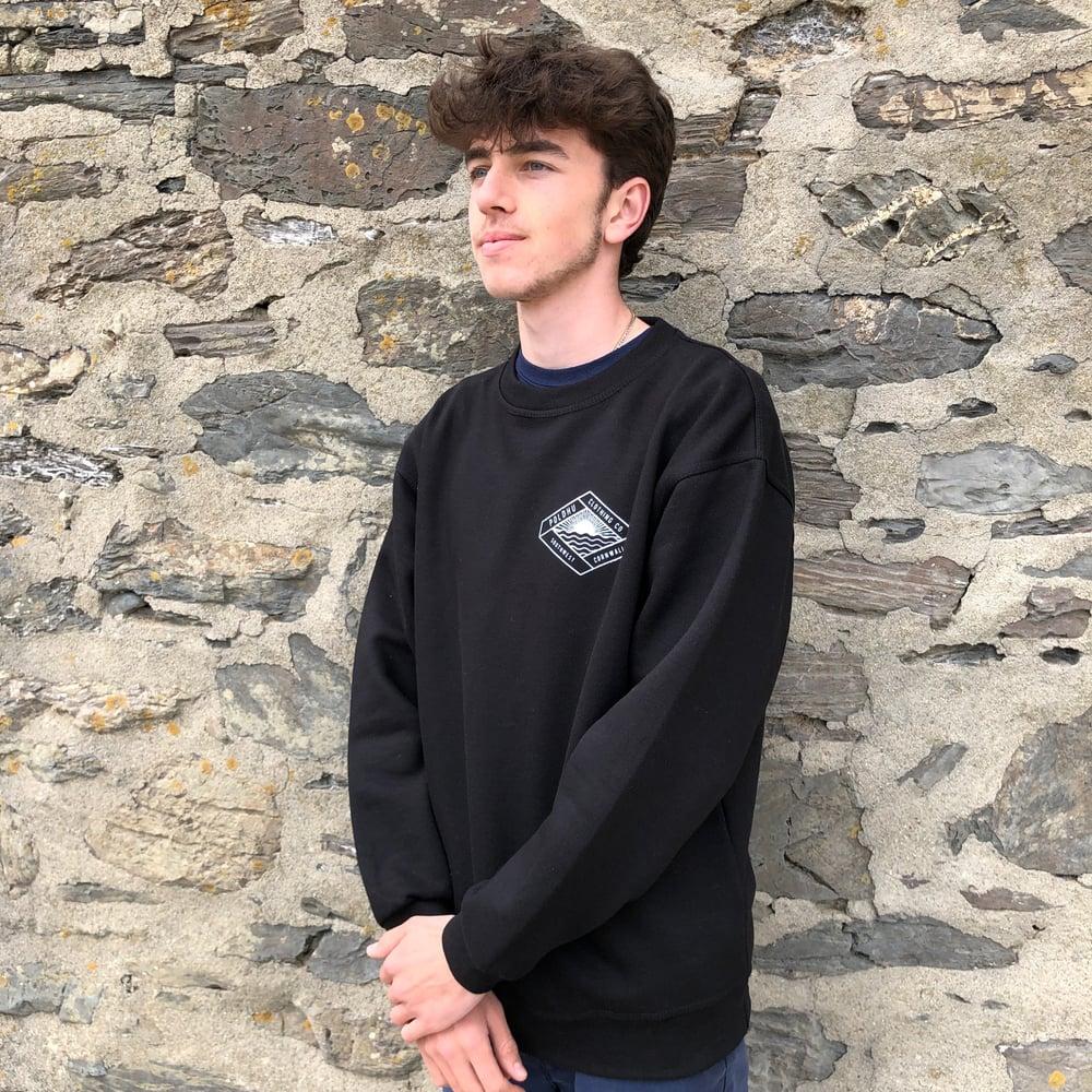 Heavyweight Sweatshirt - Black, Unisex