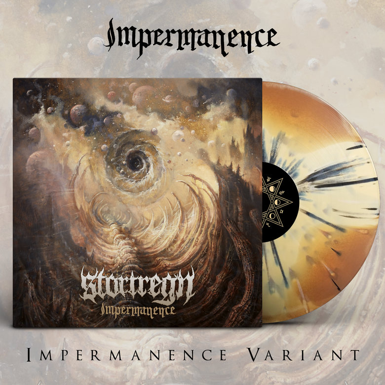 "Image of STORTREGN - Impermanence | 12"" LP [Impermanence Variant]"