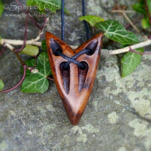 Image of Wolf Spirit & Wolf Mother pendants (PE1422)